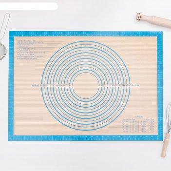 Коврик армированный с разлиновкой 71x50,5 см