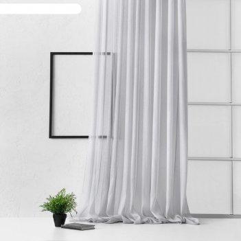 Портьера «лоунли», размер 500 x 270 см, цвет серый