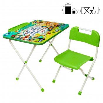 Набор мебели disney 1- микки маус и друзья: стол, пенал, стул   д1м