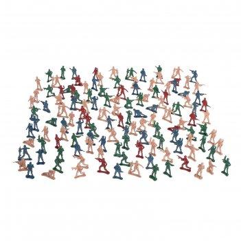 Набор солдатиков бравая армия в пакете