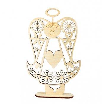 """Декоративная форма на подставке """"сердечный ангел"""""""