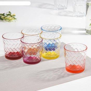 Набор стаканов 250 мл джем микс