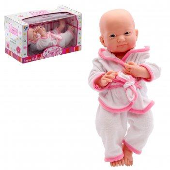 Пупс «новорожденный малыш» в халатике