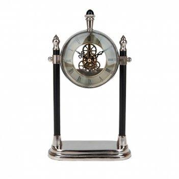 Часы настольные (часы-d=11см. батарейка-1ааа) 16,5*8,5*28см. (