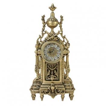 Часы  дон луи  каминные бронзовые