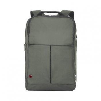 Рюкзак для ноутбука 14'' wenger, серый, нейлон/полиэстер, 28 x 1
