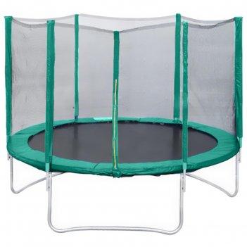 Батут с защитной сеткой trampoline 6 диаметр 1,8 м