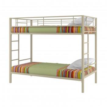 Двухъярусная кровать севилья 1, 980х960х1960 мм, бежевый