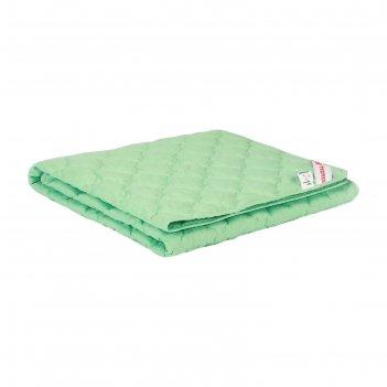 Одеяло лёгкое, размер 140 x 205 см, силиконизированное волокно