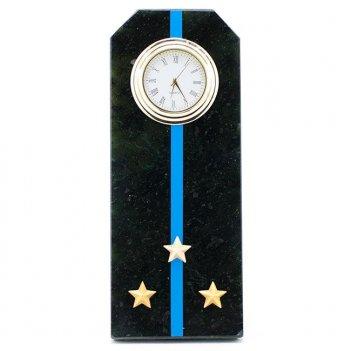 Часы погон старший лейтенант авиации вмф камень змеевик