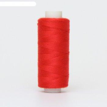 Нитка дор-так pl 40/2 400 ярд, цвет красный 117 к09