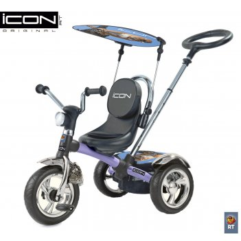 Icon 4 rt original silver blue puma