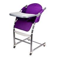 Стульчик для кормления, цвет фиолетовый