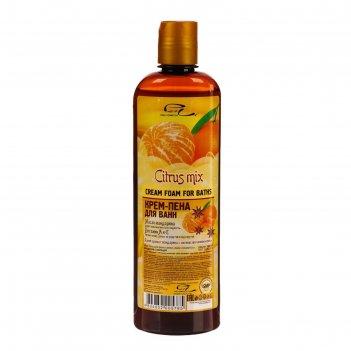 Крем-пена для ванн серии parli cosmetics мандарин с корицей, 500мл