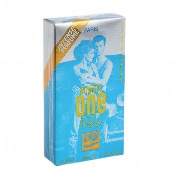 Туалетная вода number one free intense perfume, мужская, 100 мл