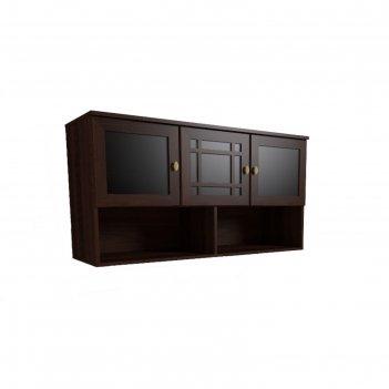 Шкаф навесной sherlock 4, орех шоколадный