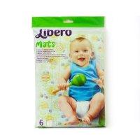 Пеленка детские libero, одноразовые, 50 * 70 см, 6 шт