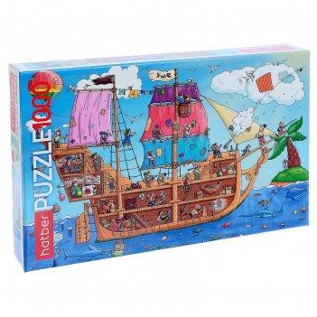 Пазл «пиратский корабль», 1000 элементов