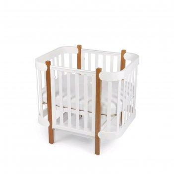 Кроватка-трансформер mommy lux, 70х90/140 см