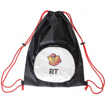 Мешок-рюкзак складной rt, на самокат и велосипед череп