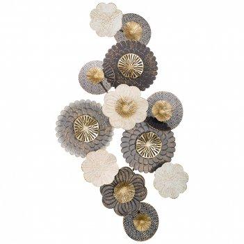Панно настенное коллекция цветочная симфония 135,3*69,9*10,8 см (кор=2шт.)