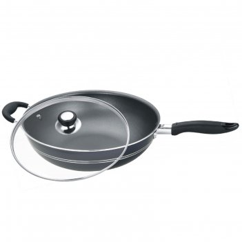 Сковорода-вок d=32 см calve, без крышки, с решеткой, с  антипригарным покр
