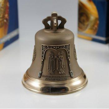 Колокол 1кг святые петр и феврония, муромские чудотворцы
