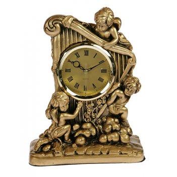 Часы настольные херувимы 22*8*28см