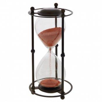 Часы песочные (5 мин 45 сек), l17 w17 h34 см