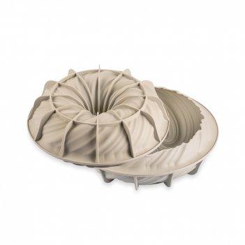Форма для приготовления пирогов и кексов intreccio, диаметр: 21 см, матери
