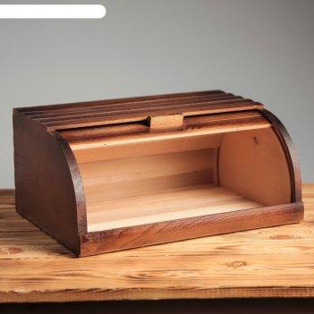 Хлебница кантри, 37 см, массив бука