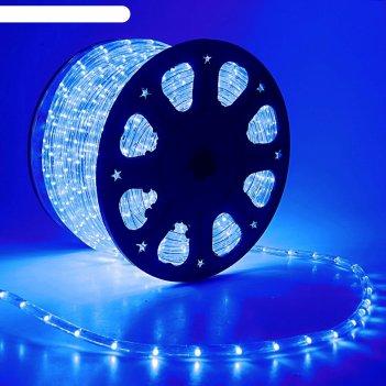 Led шнур 11 мм, круглый, 100 м, фиксинг, 2w-led/м-24-220v в компл. набор д