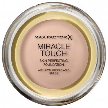Тональная основа max factor miracle touch spf30, тон 45 warm almond