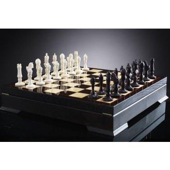 Шахматы неаполь из бивня мамонта (изготовление на заказ) kadun