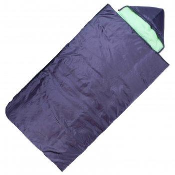 Спальный мешок maclay, 4-х слойный, с капюшоном, увеличенный 225х105 см