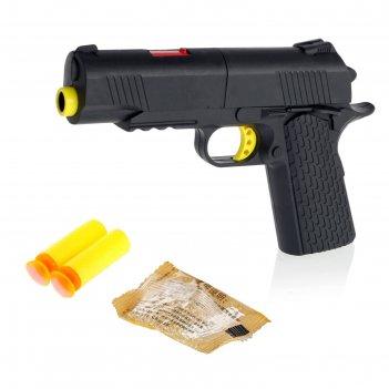 Пистолет «пантера», стреляет мягкими пулями и гелевыми шариками