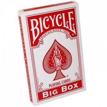 Карты bicycle big box red