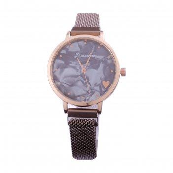 Часы наручные женские juxiaoshou d=3.5 см, ремешок на магните, микс