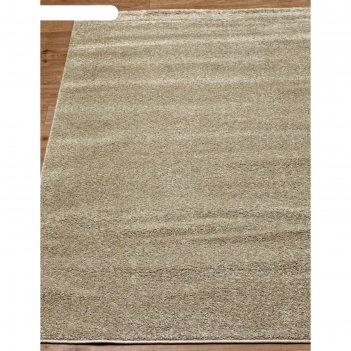 Прямоугольный ковёр platinum t600, 150x300 см, цвет beige