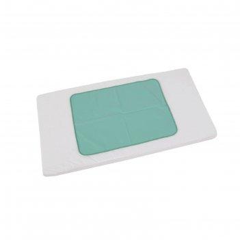 Пеленка-клеенка фея окантованная 48 х 68  см, зелёная