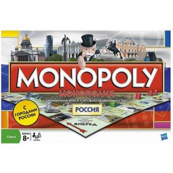 Монополия россия hasbro