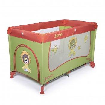 Манеж-кровать lion