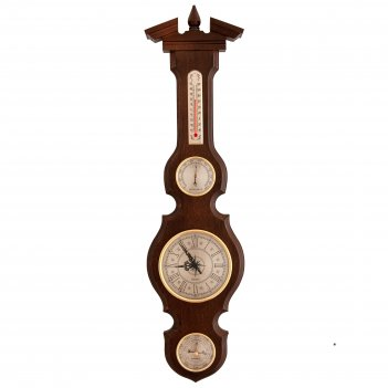 Метеостанция бм-95, часы, барометр, термометр, гигрометр