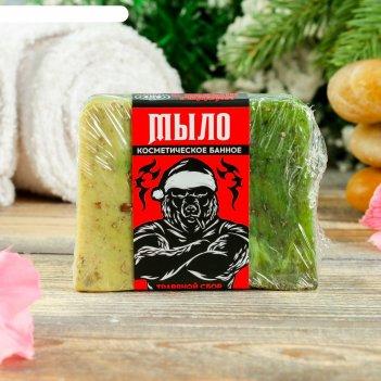 Косметическое мыло для бани и сауны травяной сбор, банная забава, новый го