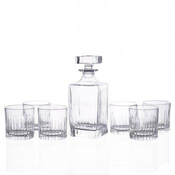 Набор для виски rcr timeless style 7 предметов графин750мл стаканы 360мл