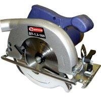 Дисковая пила диолд дп-1,3-160, 1300 вт, 4500 об/мин, диск 20х160х2 мм