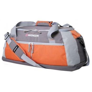 13854761 сумка wenger « duffle», цвет серый/оранж   полиэсте