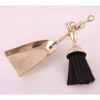 Набор:совок и щетка для камина