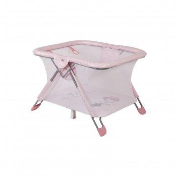 Манеж polini kids disney baby comfort, «минни маус фея», розовый