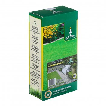 Семена газонная травосмесь евро-лень, 100 гр